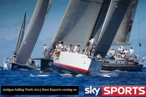 Antigua Sailing Week 2013 airs on Sky Sports