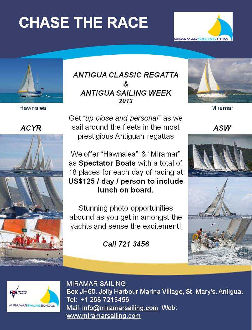 Chase the Race with Miramar Sailing