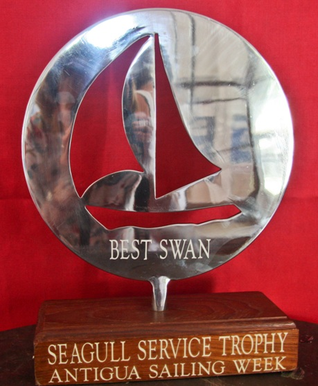 Seagull Services Trophy - Best Swan