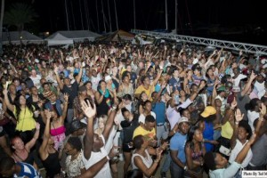 Tuesday Sailing Week Party is a huge Splash