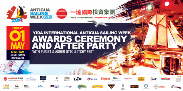 Yida International Antigua Sailing Week Awards Ceremony & After Party   @ Nelson's Dockyard