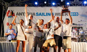 Antigua Sailing Week Awards Ceremony & After Party @ Nelson's Dockyard