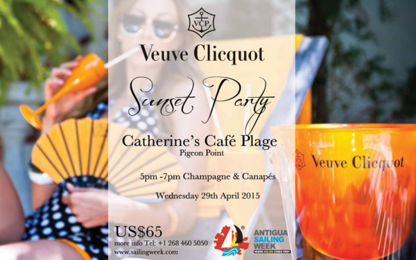 Veuve Clicquot Sunset Party  @ Catherine's Cafe Plage | California | United States