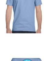 Unisex Short Sleeve T-shirt – Blue