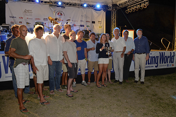 MIKE SLADE WINNERS OF YW ROUND ANTIGUA RACE