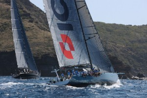 Line honours win for Leopard in Yachting World Round Antigua Race