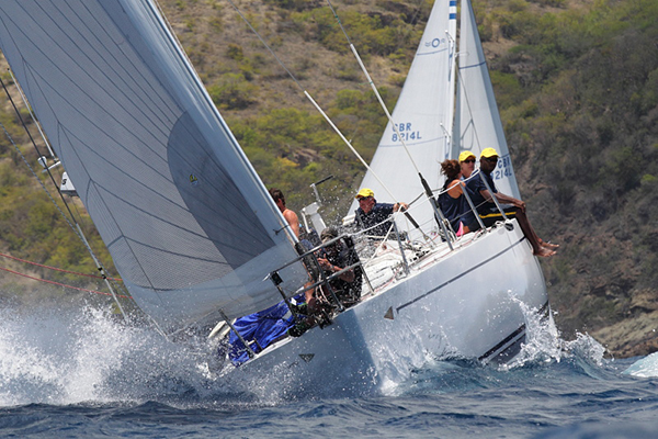 Merry Thought  Antigua Sailing Week 2014