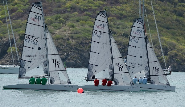 Peter Holmberg's Team CSA Wins Nonsuch Bay RS Elite Challenge