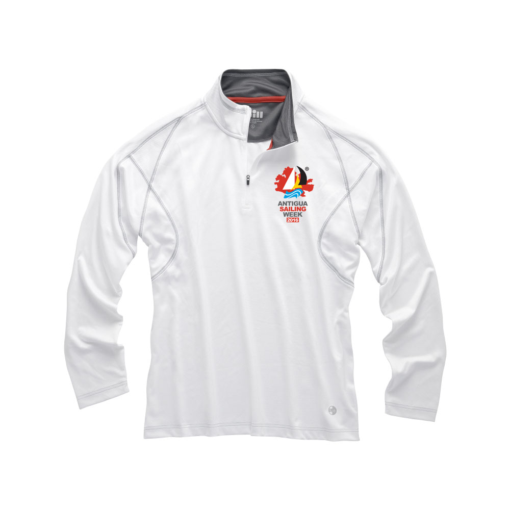 UV Tech 1/4 Zip Neck Polo