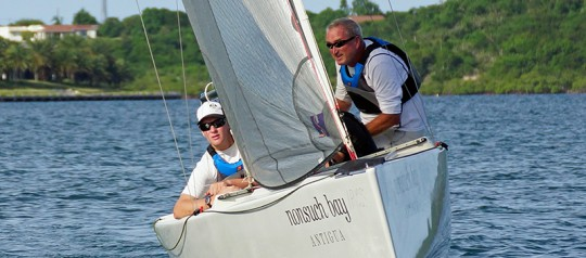 Big Boat Skipper Wins The RS Elite Challenge Summer Series At Nonsuch Bay.