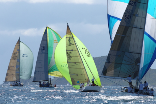Antigua Sailing Week – Under Starter's Orders