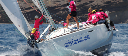 UK's Only All-Female Sailing School, Girls For Sail, Celebrates 15 Years at Antigua Sailing Week in 2015