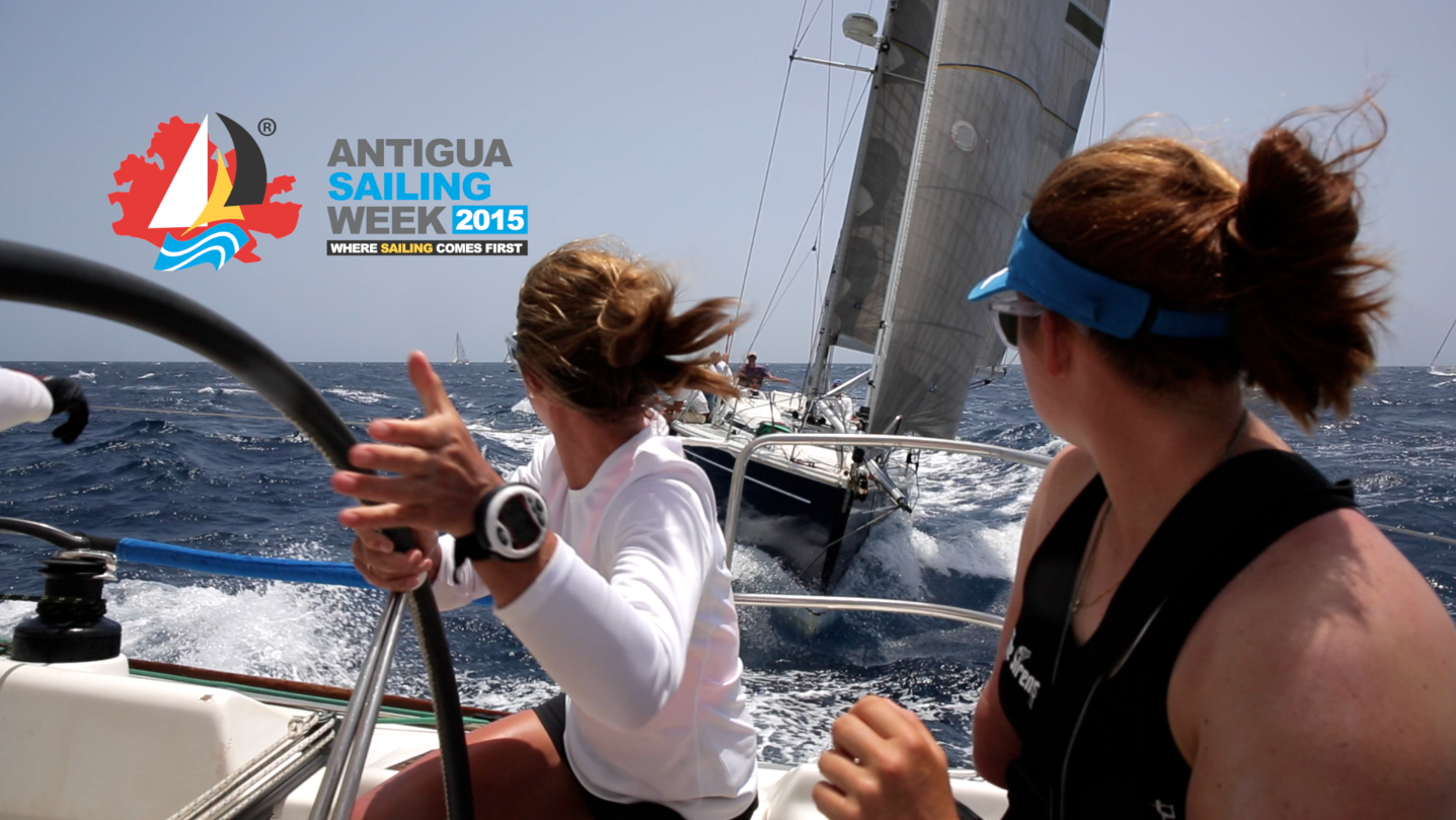 Video – Antigua Sailing Week: Runners, Riders and a day out with the girls