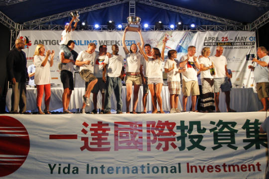 Yida International Antigua Sailing Week Final Awards – Sleeper By A Whisker