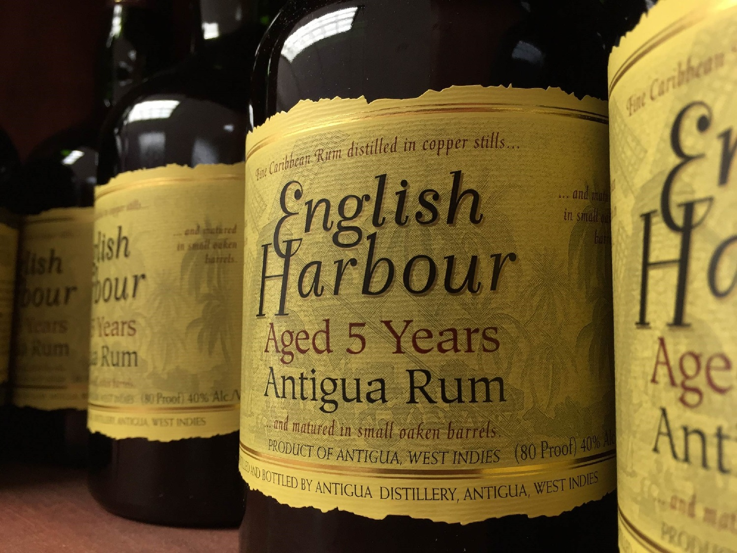 And the Winner of a Case of English Harbour 5 Year Old Rum is…