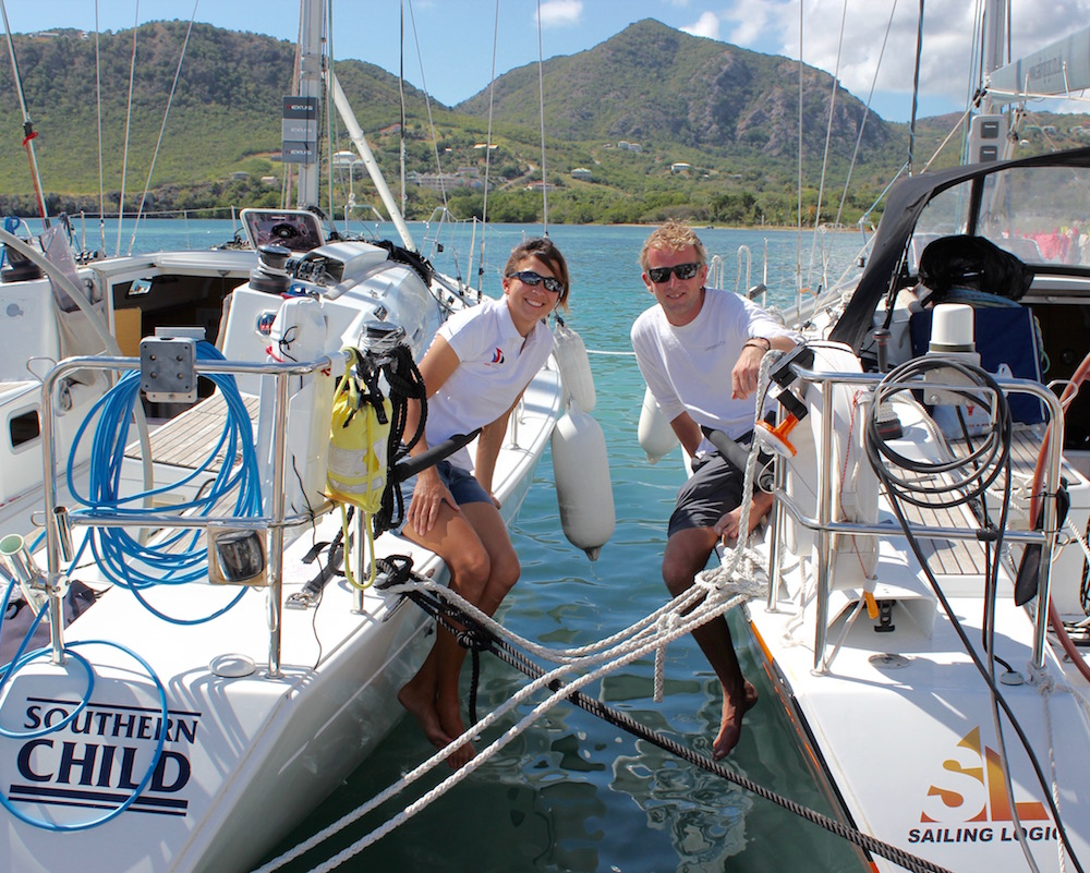 Lucy Jones of Performance Yacht Charter will be racing against her partner Chris Jackson of Sailing Logic. The two British skippers will go head to head with charter guests on identical First 40s; Lancelot II and Southern Child.