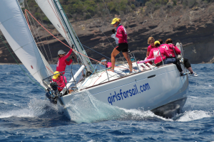 Experience Antigua Sailing Week with Girls For Sail