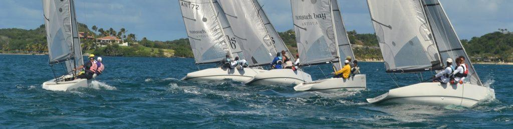 Elite semi-finals in Nonsuch Bay