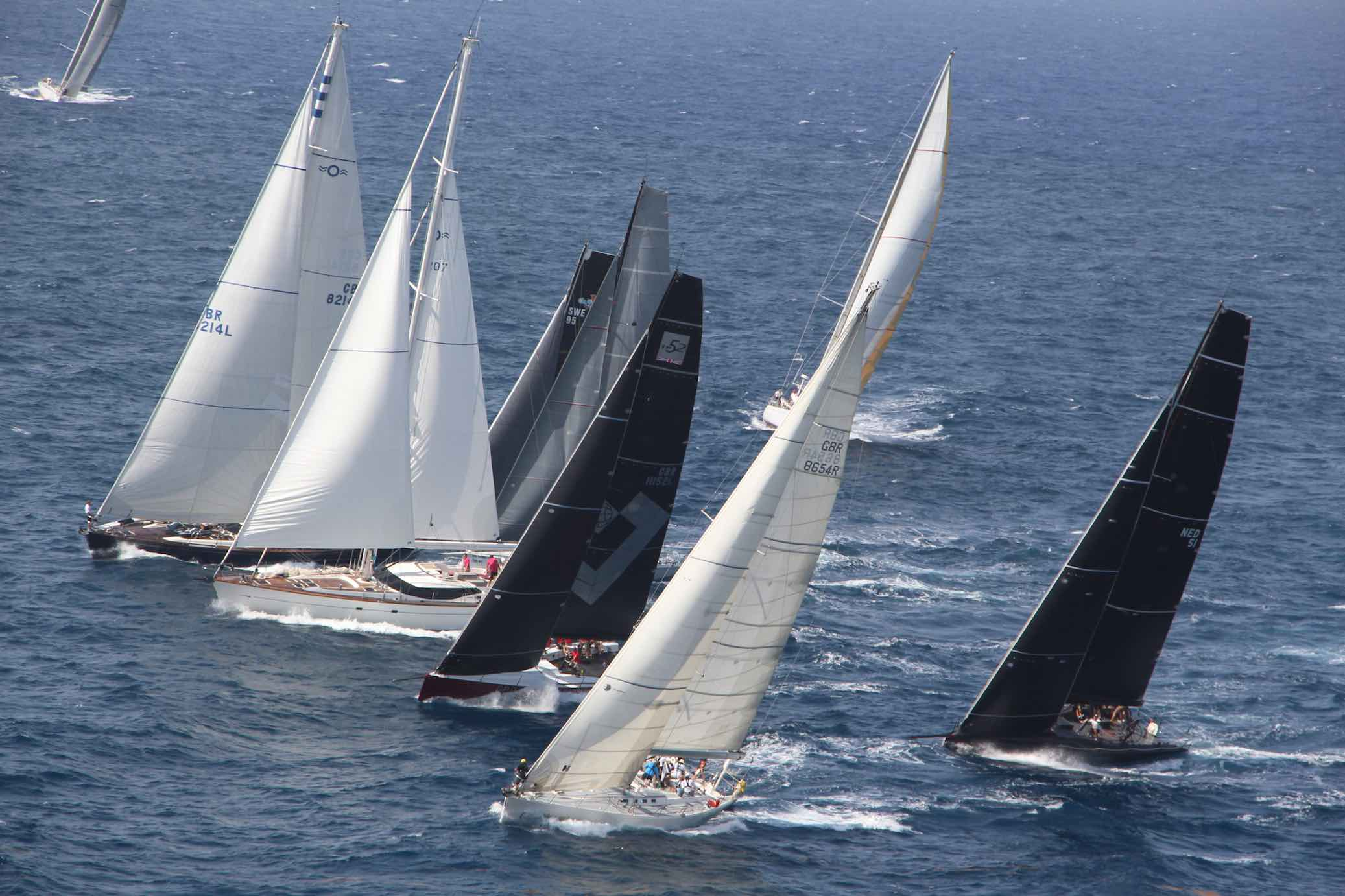 Fabulous Start for 49th Edition of Antigua Sailing Week