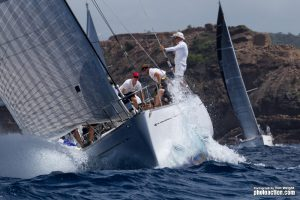 Peters & May Round Antigua Race Day @ English Harbour