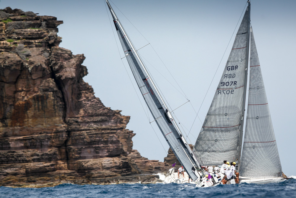Leaders Emerge at Antigua Sailing Week