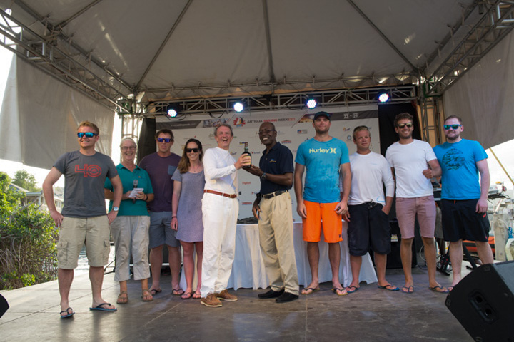 Guadeloupe to Antigua Race Prizegiving