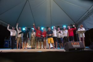 Round Antigua Race Prize giving & Antigua Sailing Week Welcome Party.