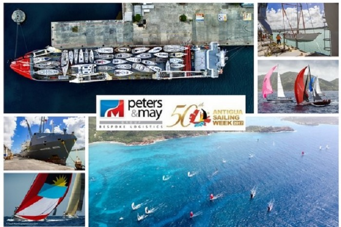 Help us celebrate the countdown to the 50th Antigua Sailing Week with Peters & May at Dusseldorf Boat Show 2017