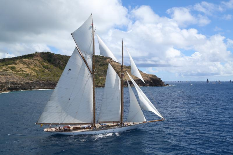 Antigua to Bermuda Race Welcomes Schooner Eleonora