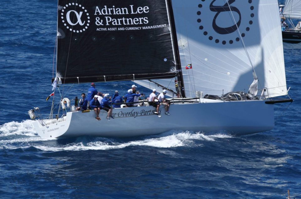 Lee Overlay Partners wins the Guadeloupe to Antigua Race