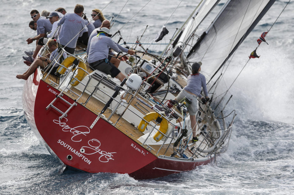 Peters & May Round Antigua Race