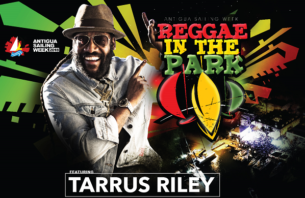 TARRUS RILEY COMING TO REGGAE IN THE PARK
