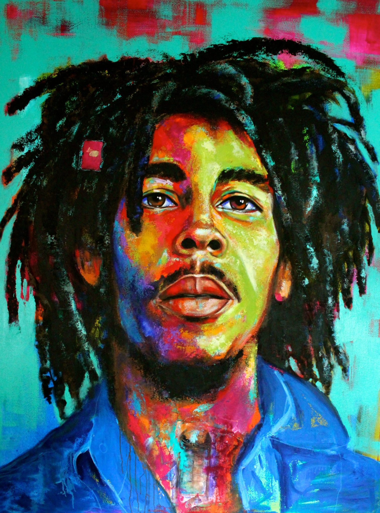 JOHN'S, Antigua, May 12, 2017 – When artist Naydene Gonnella set out last year to paint the portrait of the legendary reggae artist Bob Marley, ...