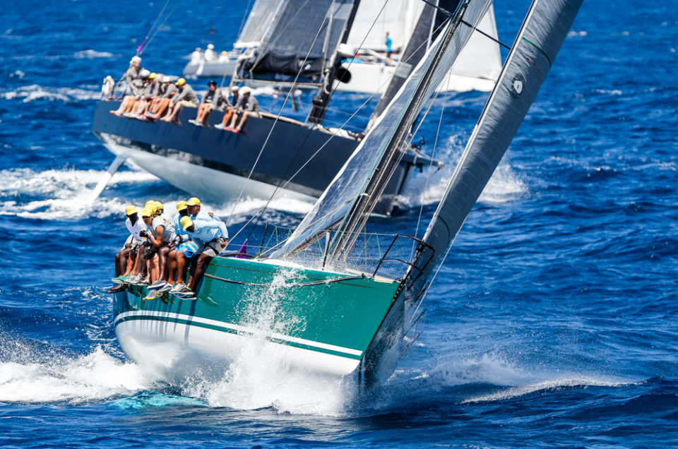 Antigua Sailing Week 2017 – Caribbean Sailing Association Race Day 4