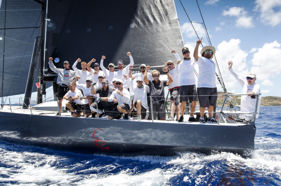 Warrior Strikes in Peters & May Round Antigua Race