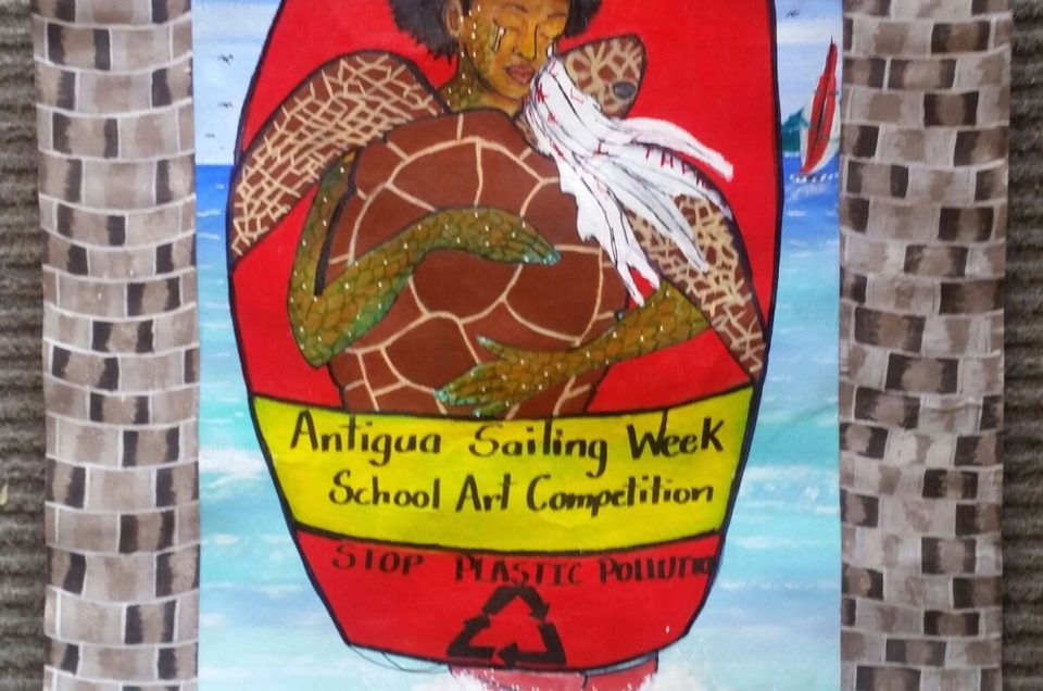 RENESHA GORDON WINS HARPER'S SCHOOL ART COMPETITION