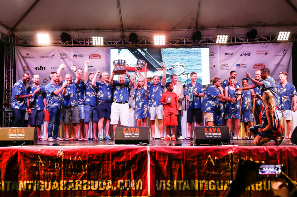 Antigua Sailing Week 2018. Final Prize Giving Ceremony.