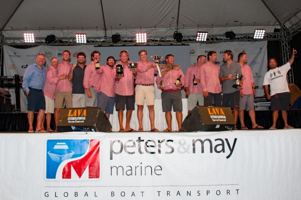 Peters & May once again renew their sponsorship of Antigua Sailing Week
