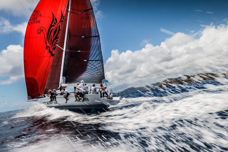 Rum Runners at Antigua Sailing Week – English Harbour Rum Race Day 1