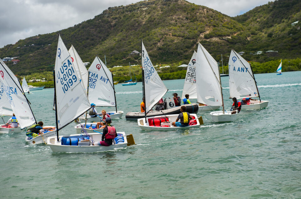 YOUTH TO KEEL (Y2K) PARTICIPANTS PREPARE FOR ANTIGUA SAILING WEEK 2019
