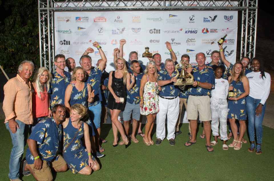 Antigua Sailing Week 2019. Final Prize-Giving Ceremony