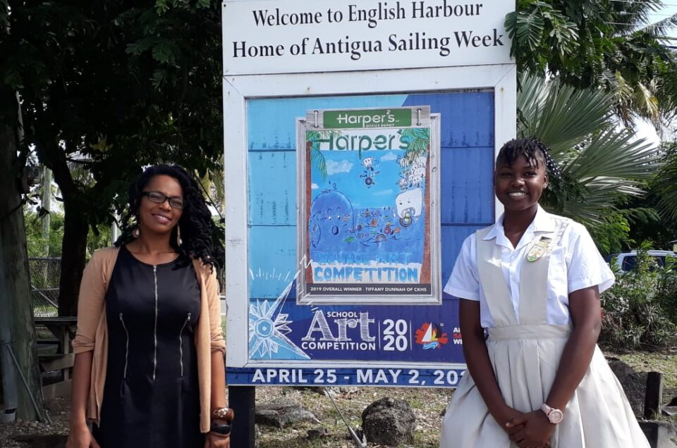 ANTIGUA SAILING WEEK LAUNCHES THE  2020 HARPER'S SCHOOL ARTS COMPETITION