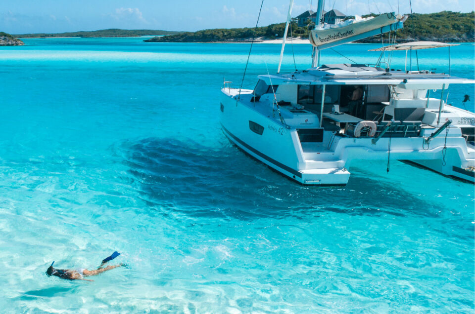 VIP Chase the Race in ASW 2022 for 6 people on a 40ft Dream Yacht Charter Catamaran – Monday