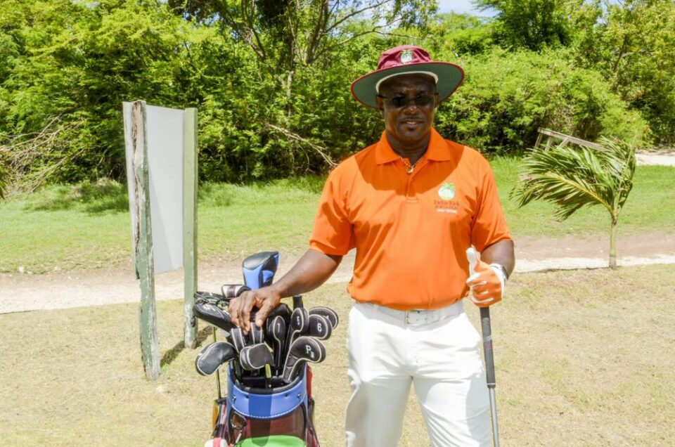 A day of Golf with Sir Richie Richardson & Signed Memorabilia